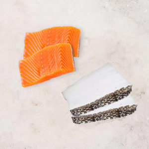 Simple Meal Combo (Codfish Fillet & Salmon Fillet)