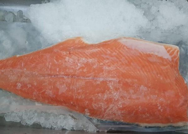 Fresh NZ king salmon